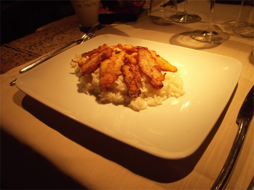 RICE WITH PERCH »